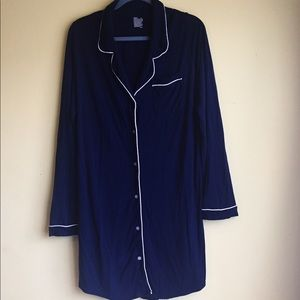 Cozy Nautical Nightgown